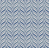 Bargello Indigo
