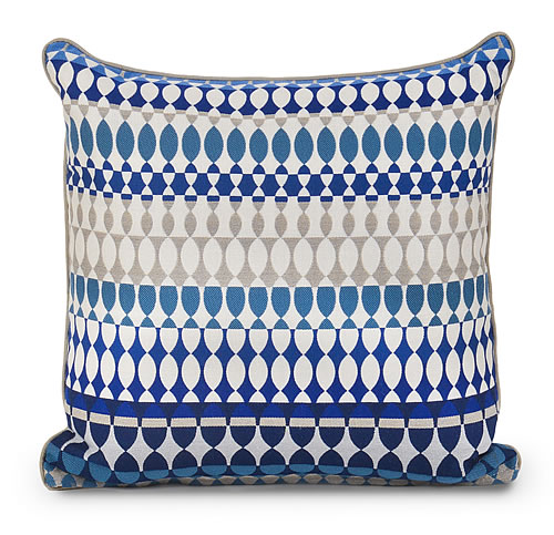 Quito Indigo Indoor / Outdoor Pillow