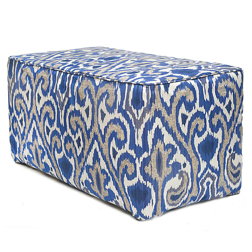 La Paz Indigo Indoor / Outdoor Ottoman