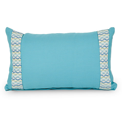 Adorn Ocean Indoor / Outdoor Lumbar Pillow