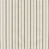 Ticking Stripe Brown Sand