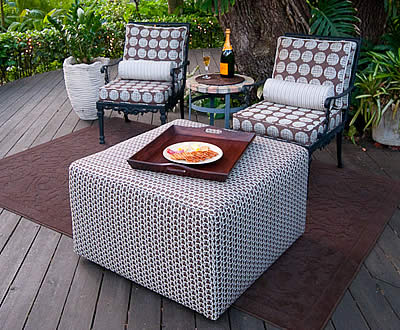 Perfect Outdoor Ottoman